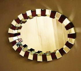 Καθρέφτης R-XGJ053 106x78x12 cm